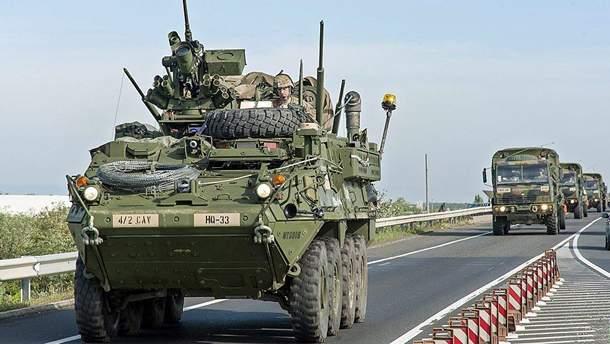 """НАТО хочет повысить мобильность своих войск для быстрого сдерживания """"русской угрозы"""""""