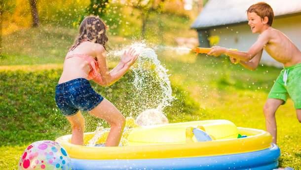 Водяные пистолеты опасны для детей