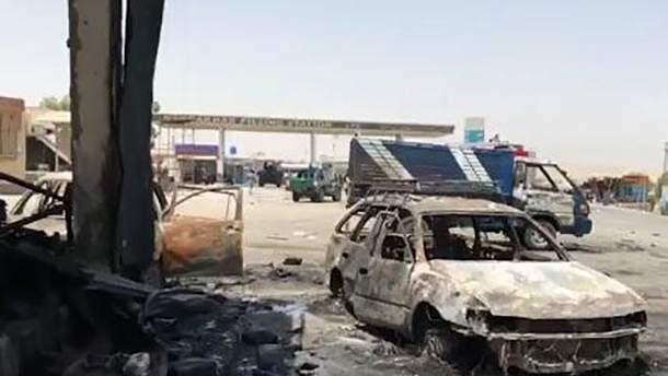Терорист-смертник підірвав свій автомобіль