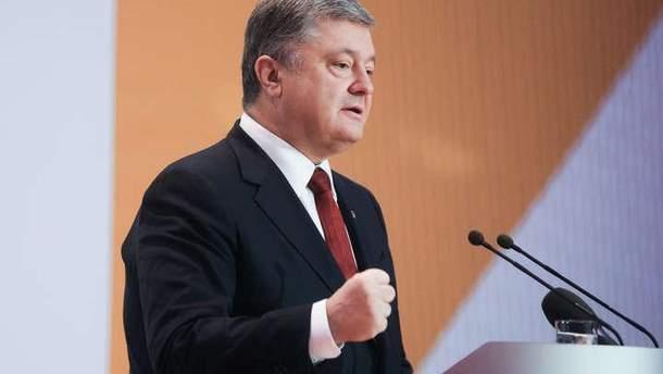 Порошенко заявив, що ціна за агресію Росії лише зростатиме