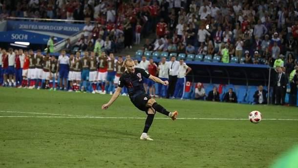 Вида в матче против сборной России забил гол с игры и реализовал пенальти