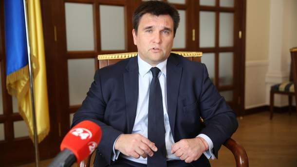 Клімкін пояснив, чому МЗС утримується від прямої полеміки з FIFA