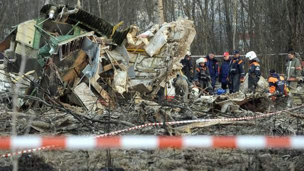 Смоленская катастрофа: Россия отказала Польше в реконструкции самолета