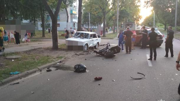 В страшній ДТП у Харкові загинули 2 мотоциклісти