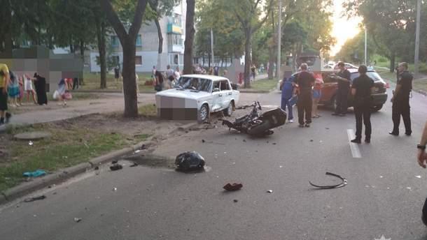 В страшном ДТП в Харькове погибли 2 мотоциклиста
