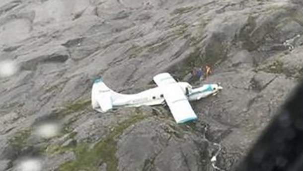 У горах Аляски впав пасажирський літак