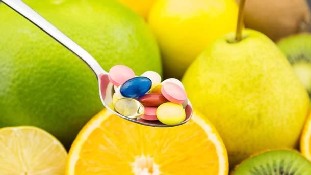 Вітамінні добавки не захищають від серцевих хвороб