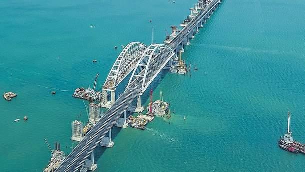 Крымский мост постигли новые проблемы