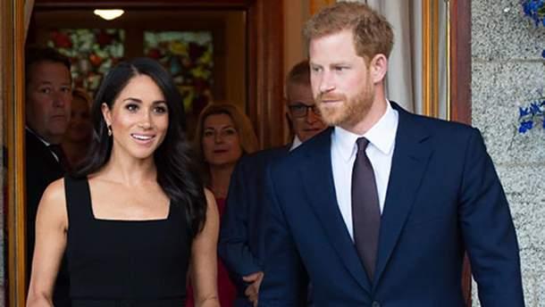 Меган Маркл и принц Гарри в Ирландии