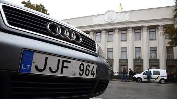 """Власники авто на """"єврономерах"""" озвучили свої вимоги до влади"""