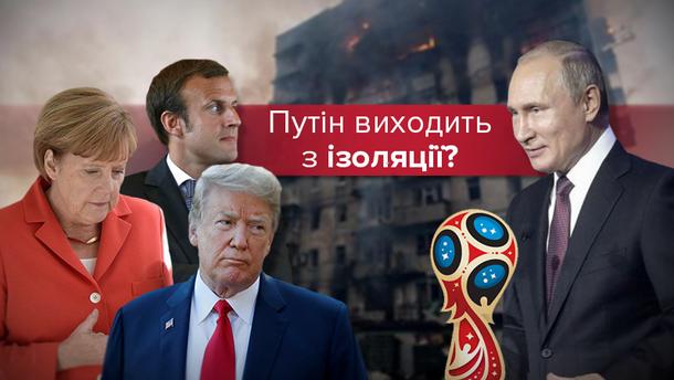 Світ закрив очі на агресію Росії?