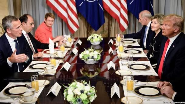 """Трамп остро раскритиковал строительство """"Северного потока-2"""" перед началом саммита НАТО"""