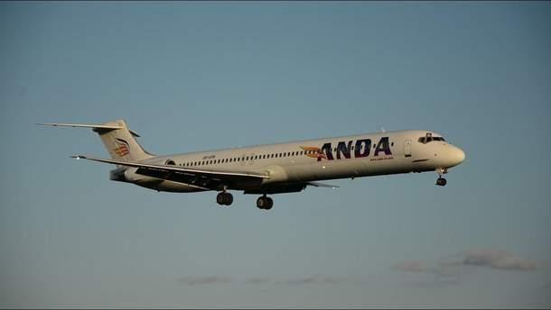 """Літак Anda Air здійснив аварійну посадку в """"Борисполі"""""""