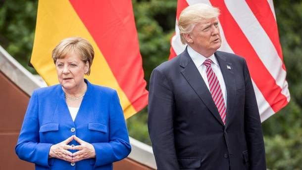 Меркель відповила на критику Трампа під час саміту НАТО