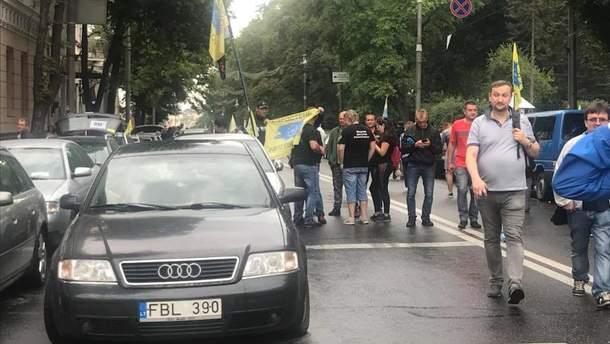Протесты под Верховной Радой
