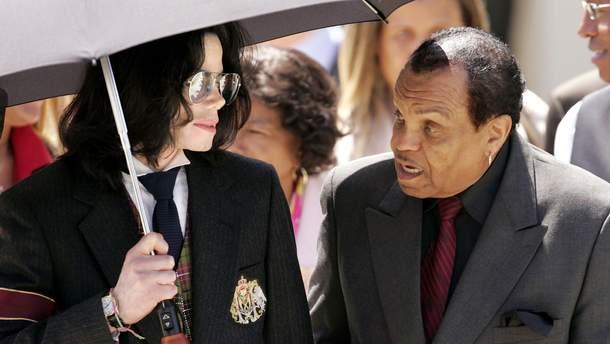 Покойный Майкл Джексон и Джо Джексон