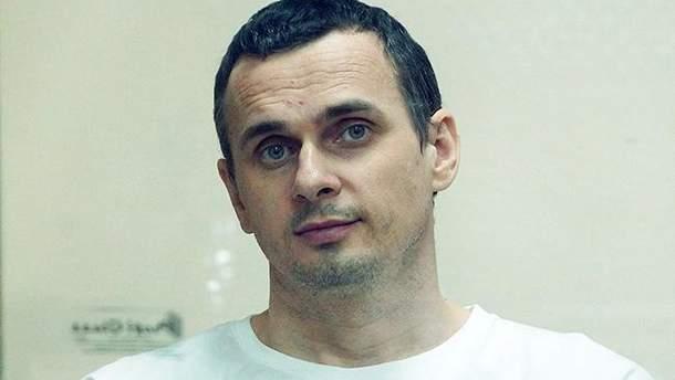 Олег Сенцов голодує 58-й день