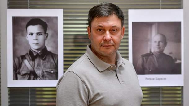 Вышинскому продлили арест до 13 сентября