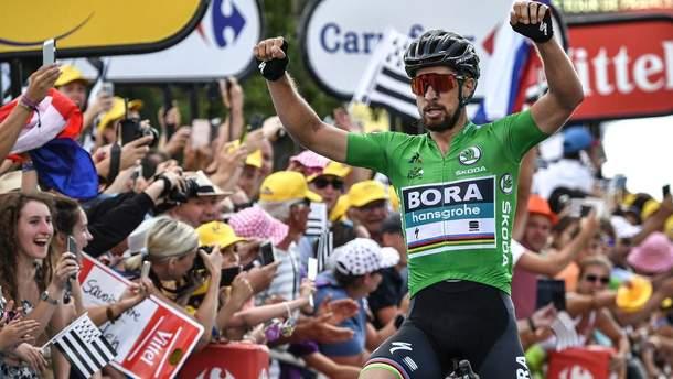 Петер Саган победил на 5 этапе Tour de France-2018