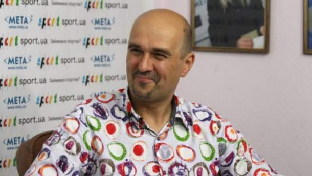 Спортивный журналист Константин Андрюк