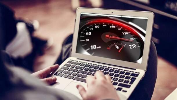 У світовому рейтингу швидкості інтернету Україна посідає 58 сходинку