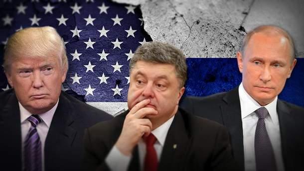 Експерт розповів, про що Порошенко має нагадати Трампу