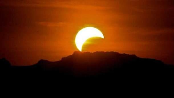 Солнечное затмение 2018