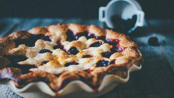 Черничный пирог: рецепт приготовления пирога с черникой