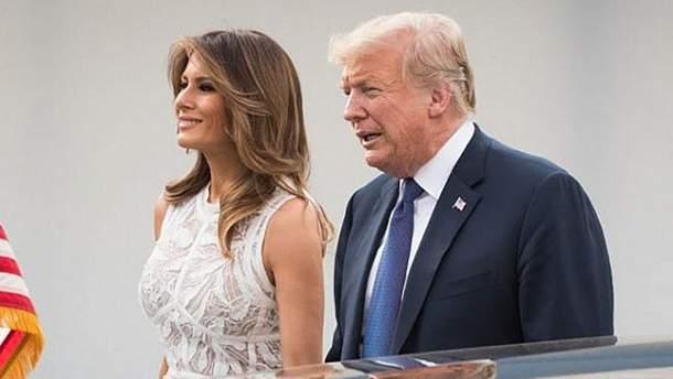 Мелания Трамп на саммите НАТО
