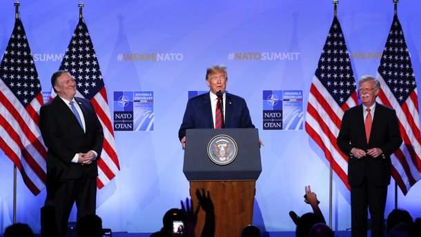 Трамп подтвердил свою приверженность НАТО