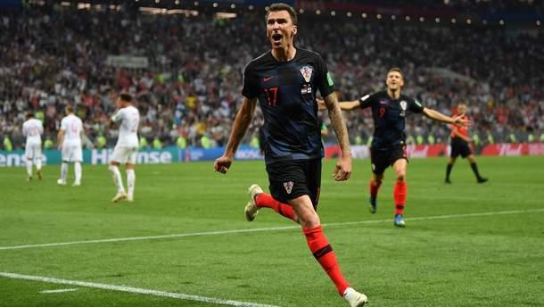 Матч Хорватия-Англия побил рекорды украинского ТВ