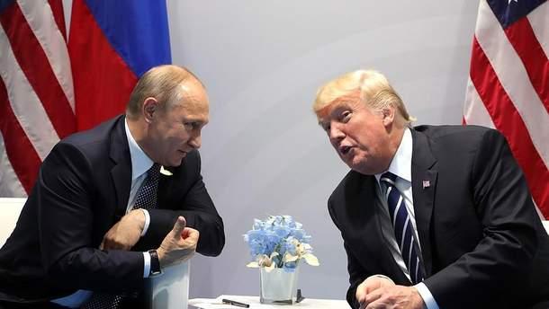 Путин и Дональд Трамп
