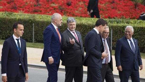 Визит Президента Украины в Бельгию для участия в Саммите НАТО