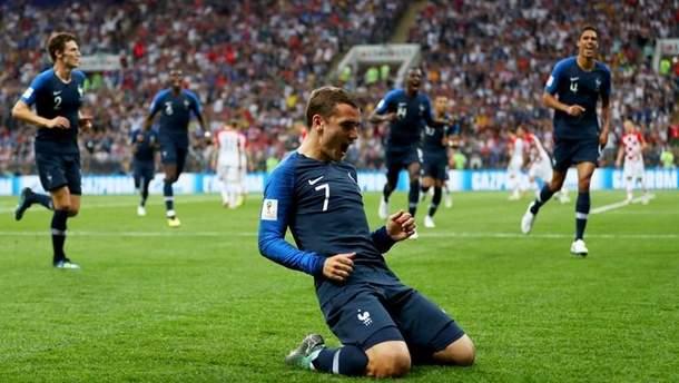 Франция – Хорватия: результат финала Чемпионата мира