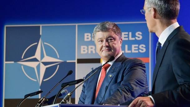 Петро Порошенко на саміті НАТО