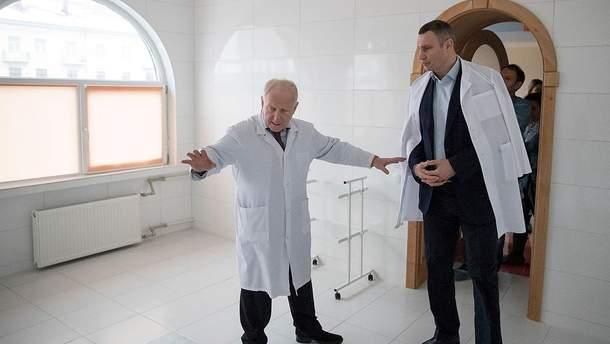 Макаренко та Кличко