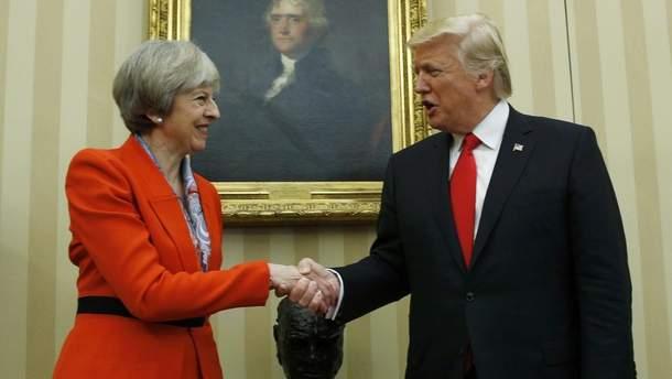 Трамп раскритиковал план Терезы Мэй относительно Brexit
