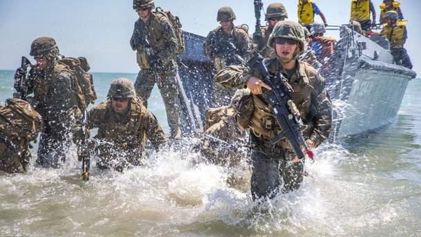 """В российском МИД назвали """"играми с огнем"""" ежегодные украинско-американские военные учения на море"""
