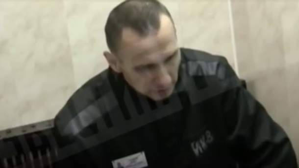 Відеоролик записали російські силовики у колонії в Лабитнангі, коли Сенцову телефонували Ксенія Собчак та її мати