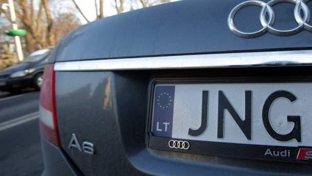 Машина на єврономерах