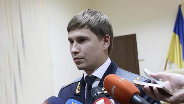 Заступник Головного військового прокурора Дмитро Борзих