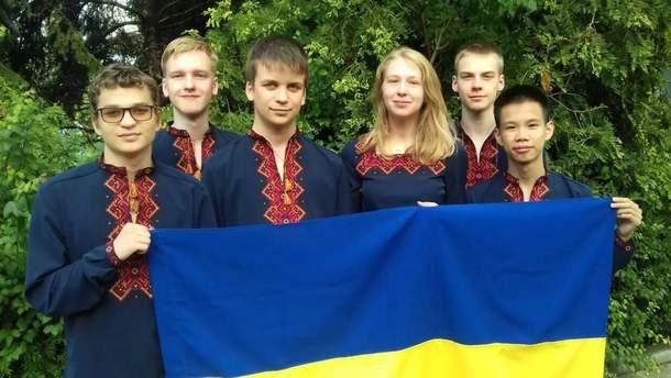 Команда украинских школьников заняла 4 место на международной олимпиаде по математике