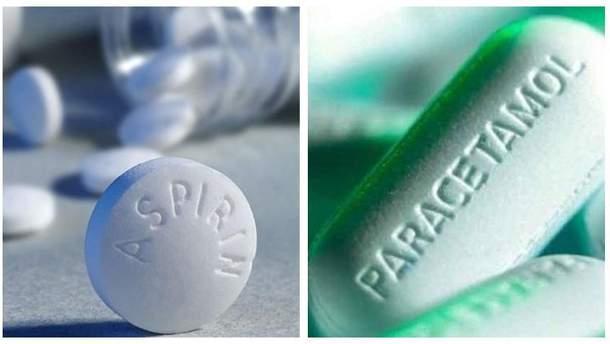 Аспірин чи парацетамол: яке знеболювальне ефективніше