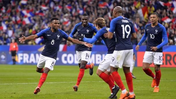 Сборная Франции - финалист чемпионата мира-2018 по футболу