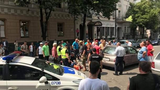 """Біля Ради знову ДТП з """"євробляхерами"""""""