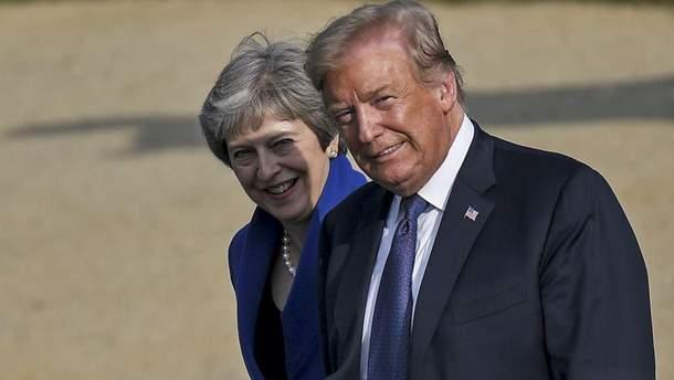 Трамп збирається побачити у Великій Британії хаос