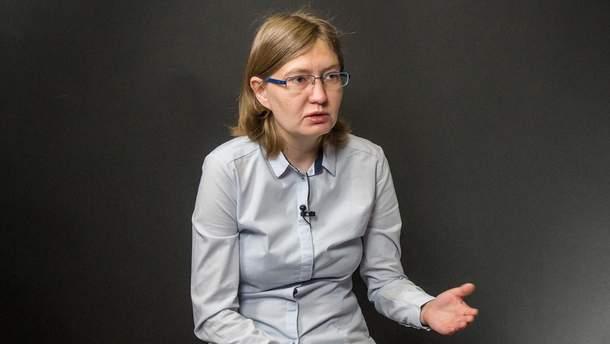 Наталія Каплан закликала бойкотувати деякі українські ЗМІ