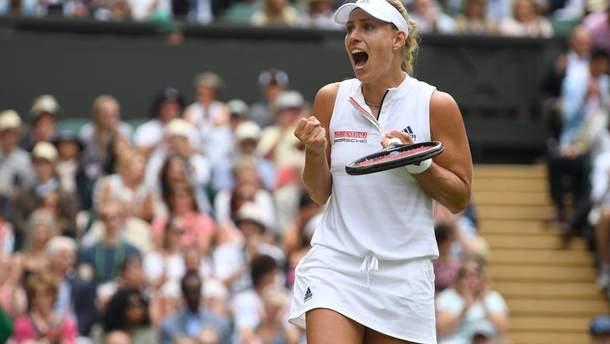 Анжелик Кербер выиграла Wimbledon