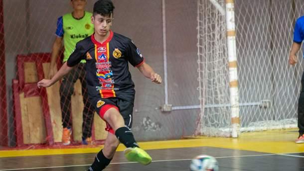 Молодая звезда футзала Венесуэлы Кедуин Индриаго сумел забить гол после своей смерти