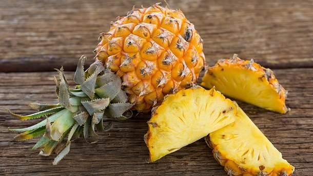 Якими лікувальними властивостями здивує ананас